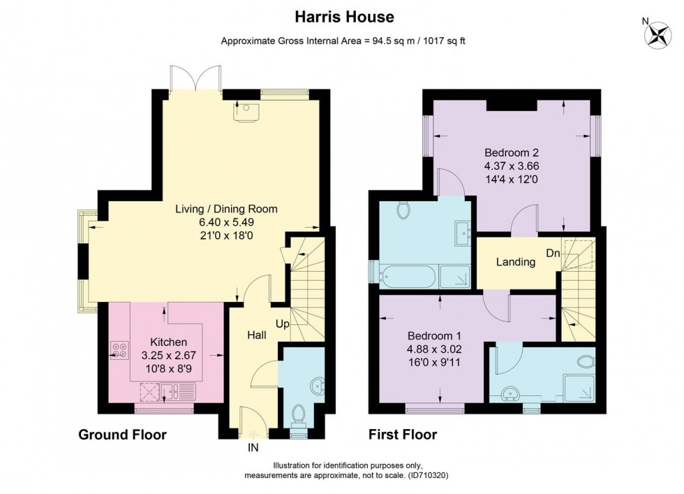 Floorplan for London Road, Moreton in Marsh, Gloucestershire